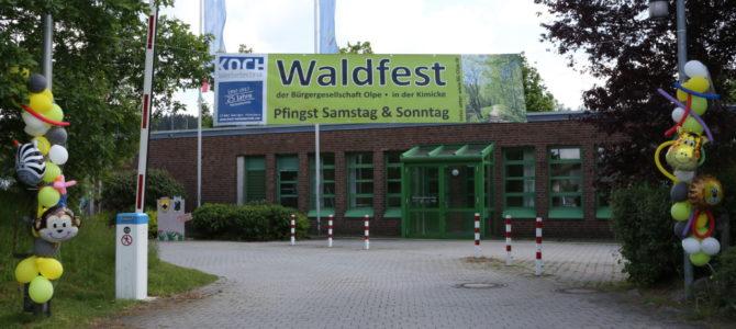 Bilder vom Waldfest 2018